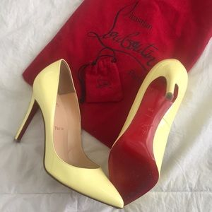 AUTHENTIC primevere Christian Louboutin's pigalle